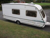 Abbey Gts Vogue 416 4 berth,end- washroom caravan, top model, superb condition and value