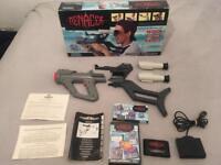 Sega Megadrive Menacer Gun Set Complete