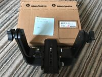 Manfrotto 393 Heavy Telephoto Lens Support Head for Tripod / Monopod