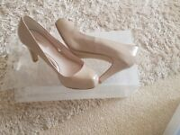 Size 5 1/2 nude heels from Next.