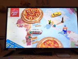 New JVC 32'' TV Built in freeview