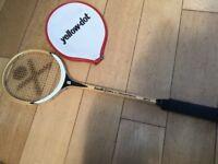 Goudie squash racket