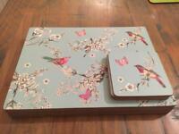 Beautiful Birds Placemats & Coasters