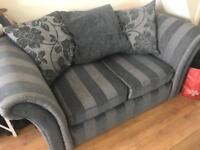2+3 grey sofas in a good condition