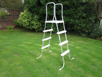 "Intex Above Ground Pool Ladders for 48"" to 52"" high."