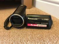 Panasonic HC-V130 HD camcorder + 32gb SDHC