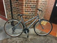 Ridgeback Speed Womens Hybrid Bike in grey colour good condition and fully working