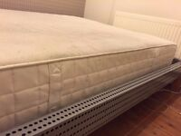 Ikea foam matress 2 years old, good condition.