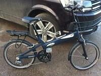 Giant Halfway folding bike cycle camping and caravanning