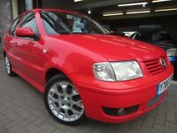 VOLKSWAGEN POLO 1.4 Colour Concept 5dr (red) 2001
