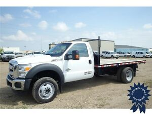 2015 Ford Super Duty F-550 XLT 4WD Regular Cab, 22,562 KMs