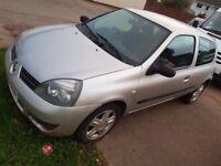 08 Renault Clio 1.2 8v cheap to insure