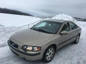 Volvo S60  2001, T5, TURBO **ULTRA PROPRE** A VOIR !!!