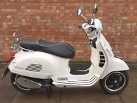 Piaggio vespa GTS 125cc, EXCELLENT CONDITION.