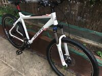 Carrera aluminium hardtail mountain bike in superb condition