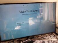 "Samsung Series 6 UE43MU6100 43"" 2160p UHD LED LCD Internet TV -AS NEW"