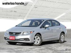 2013 Honda Civic LX One Owner. Automatic, A/C and More!