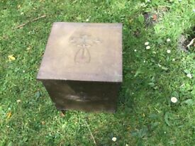 Art Deco coal box.