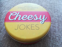 MARKS AND SPENCER-54 X CHEESY JOKES IN METAL TIN