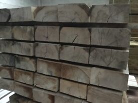 French oak railway sleepers pressure treated