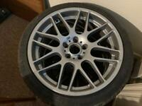BMW M3 e46 smg wheels and tyres