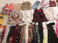 Massive 12-24 girl's clothes bundle