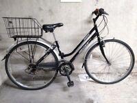Dutch-style ladies city bike, good condition