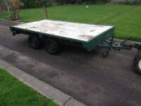 trailer twin axle