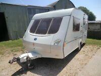 Abi Brooklyn 400/2 berth 2001/2 touring caravan in excellent condition