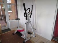 Davina Mcall 2 in 1 crosstrainer and exercise bike