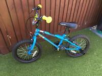 Boys 16 inch BMX bike