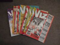 VIZ COMICS - 52X FROM MID 1980's TO MID 90'S - ALL GOOD CONDITION