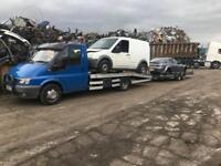Scrap cars vans wanted spares or repair none runners damage any vehicle