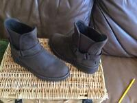 UGG BOOTS - size 4.5 - worn once