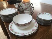Collingwood England china tea set