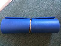 FREE blue camping mat