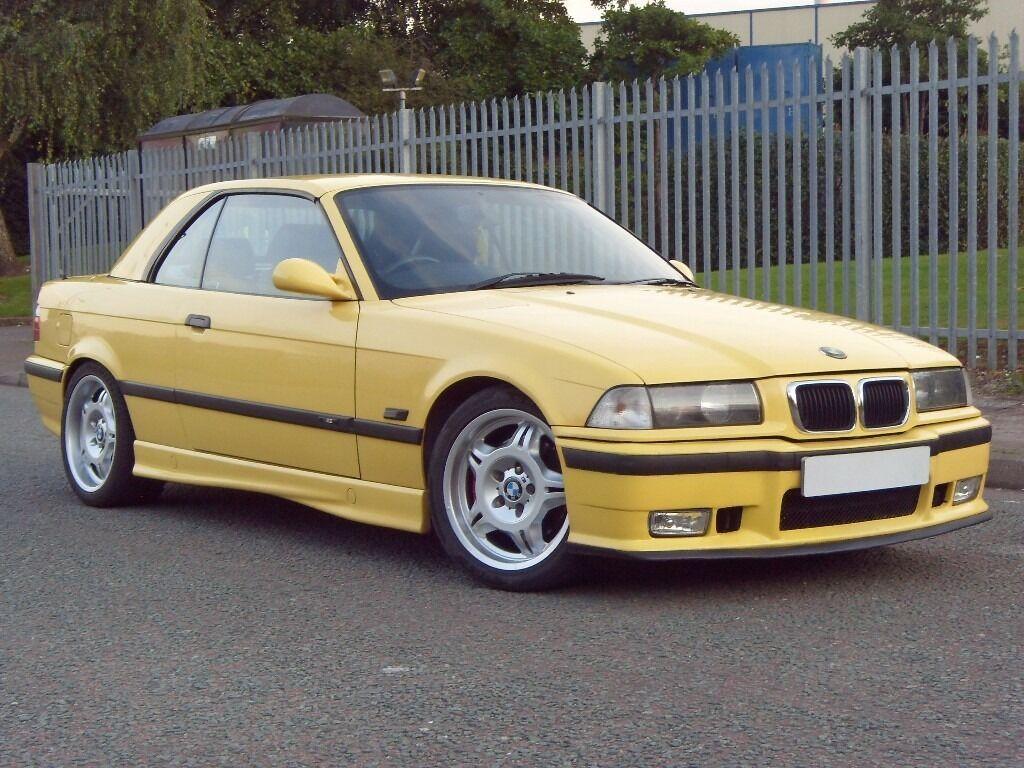 1995 n bmw m3 3 0 2dr convertible hardtop dakar yellow. Black Bedroom Furniture Sets. Home Design Ideas