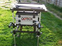 Octbox tackle box wheelbarrow.