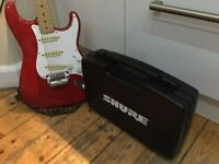 """SHURE """" The Guitarist """" wireless guitar system. Diversity Receiver. ( fully boxed / perfect order )."""