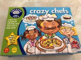 Crazy Chefs children's game