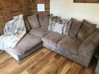 Corner sofa + single chair