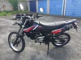 Yamaha WR 125 R low mileage full mot no advisories