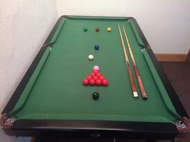 6' Snooker/Pool Table