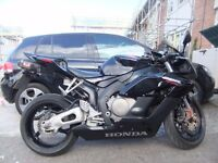 05 cbr 1000 rr new mot only 16000 miles