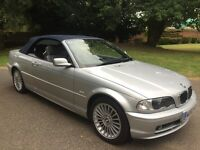 BMW 318i AUTOMATIC 03 52 REG CONVERTIBLE FULL GREY LEATHER