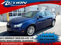 2012 Chevrolet Cruze ECO AUTO6 AIR 1.4T MAG BLUETOOTH