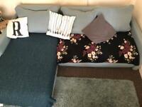 L shaped sofa/sofa bed