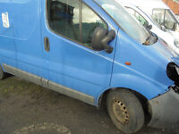 VAUXHALL VIVARO TRAFIC PRIMASTAR BREAKING 2001-2014 ALL PARTS AVAILABLE ENGINE GEARBOXES FUEL PUMPS