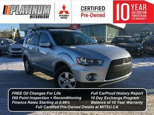 2011 Mitsubishi Outlander LS All Wheel Drive | V6 | 7 Passenger