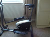 Cross Trainer / Exercise Bike (as new)